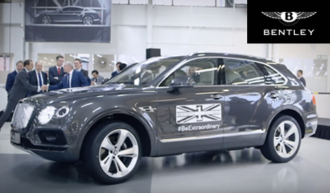 Bentley: The First Bentayga Off The Production Line
