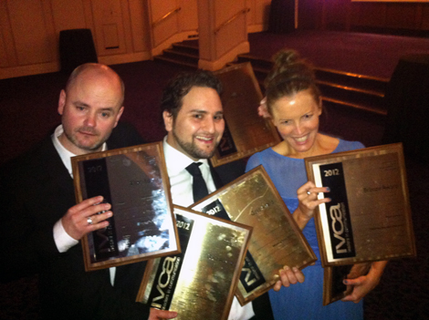 6 GONGS AT IVCA AWARDS