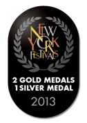 2 GOLDS at New York Film Festivals